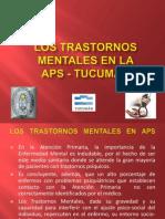 Trastornos Mentales en la APS - Tucumán