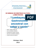 Comida Lambayecana 2012
