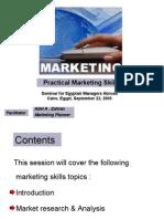 Practical Marketing Skills