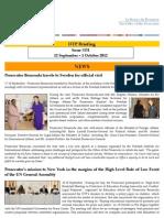 OTP Briefing 12 September - 1 October #131