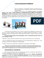 TRABALHO DEFINITO DE CHAVES SECCIONADORAS PRIMÁRIAS