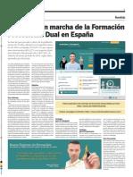 La puesta en marcha de la formación profesional dual en España