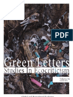 """Global and Postcolonial Ecologies"", Special Issue of Green Letters"