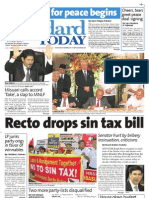 Manila Standard Today - Tuesday (October 16, 2012) Issue