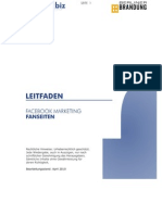 Facebook Marketing Leitfaden Fanseiten