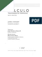 Cálculo - Transcendentes Tempranas-6ed-Stewart