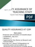 GSPI-QA of Teaching Staff-draft3