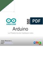 GTUG-Madrid - Arduino
