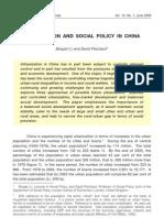 Unbanisation in China
