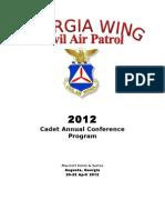 CAP Georgia Wing Cadet Conference (2012)