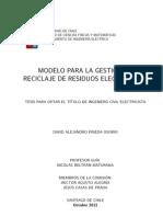 Reciclaje de Residuos Electrónicos, Modelos de reciclaje y estudio de los materiales