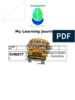 A2 Learning Journey L3 Public Services
