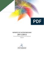 Reporte de Sustentabilidad 2011/2012