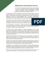 TERORIA DE LA ADMINISTRACION Y APLICACIÓN EN EL SIGLO XXI