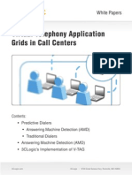 Virtual Telephony Application Grids in Call Centers