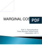 5. Cost Control Techniques - Marginal Costing