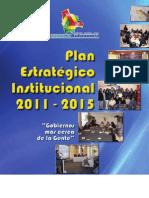 Plan estratégico institucional 2011-2015 del Ministerio de Autonomías