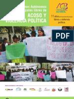 Gobiernos municipales libres de acoso y violencia política