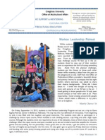 Office of Multicultural Affairs Newsletter- Fall 2012 Vol.3 Issue 1