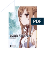 Sword Art Online Novela Volumen 1 Traducido
