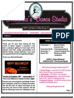 MDS Newsletter October 2012