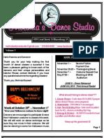 MDS Newsletter October 2012