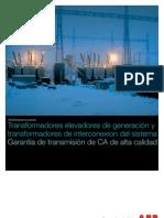 ABB TRafos de Potencia GSU_es Fabricacion