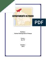 Departamento de Pando