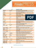 Targeted FreshPress 10-12-12
