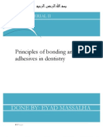 Bonding and Adhesives (1)
