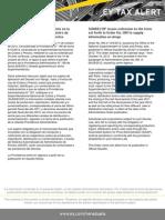 Tax  Alert - Prov N° 196 - Extensión de Prov N° 189 de la SUNDECOP