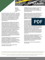 Tax  Alert - Prov N° 195 - Extensión de Prov N° 190 de la SUNDECOP