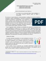 Construcción participativa del currículo