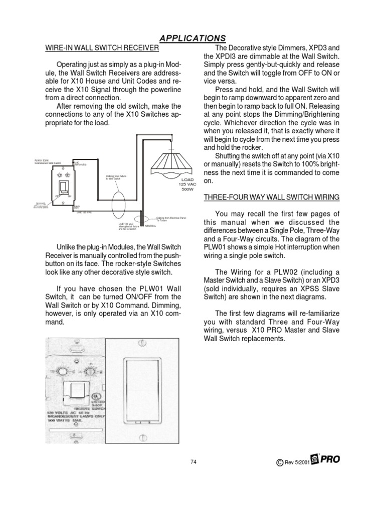 WRG-8282] X10 Home Automation Switch Wiring Diagram on