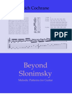 100799548 Beyond Slonimsky Melodic Patterns for Guitar
