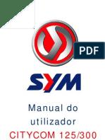 Manual Utilizador Citycom125-300
