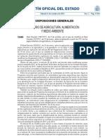 RD 1391 2012 Pagos Directos 2012 a la Agricultura y Ganadería