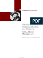 IBM DB2 UDB for UNIX and Windows- New Log File Management