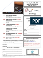 2013 New York Yankees Luncheon Ticket Order Form
