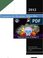 AJDF - Ofrendas 2012