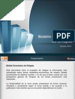 Boletín Económico de Chiapas, octubre 2012