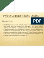 Two Cylinder Stirling Engine
