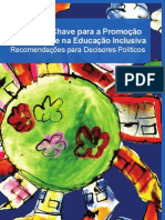 Principios Chave Para a Promocao Da Qualidade Na Educacao Inclusiva Recomendacoes Para Decisores Politicos EADSNE 2009
