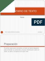 COMENTARIO DE TEXTO POÉTICO