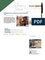 El Maderal por su compromiso con el desarrollo rural - La Opinión de Zamora