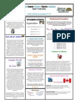 Newsletter 9-28-2012