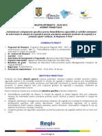 Buletin Info Proiect ADIVEST 07 2012