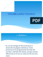 Vocabulario Tecnico Jh