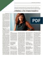 """La Junta discrimina a los transexuales"""