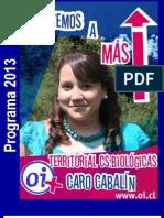 Apostemos a Más - Caro Cabalín - Programa Consejera Territorial Oi Cs. Biológicas